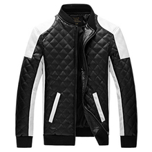 2016 Fashion PU Leather Jacket Men 2016 Hot Sale Casual New Design Men Leather Jacket Plus Size 5XL Jaqueta Couro MWP273