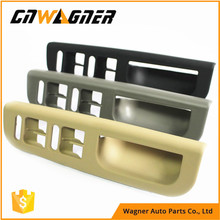 CNWAGNER Touching Black Master Window Switch Control Panel Bezel Door Handle Trim Cover for Passat B5 Golf MK4 3B1 867 171 E(China)