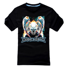 Free shipping MEGADETH HOLY WARS SPEED THRASH METAL ANTHRAX EXODUS NEW BLACK T-SHIRT(China)