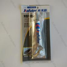 Free shipping 85g kafuter free spacer silver glue silicone rubber sealant high temperature weatherability lasting