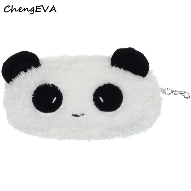 ChengEVA 1PC Cute Plush Panda Pen Pencil Case Cosmetic Makeup Bag Coin Purse Wallet Fashion Brand Hot Sale Attractive Nov 21<br><br>Aliexpress