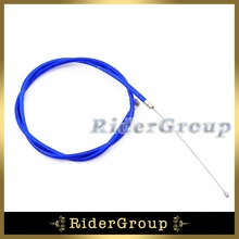Blue Gas Throttle Cable For 2 Stroke 43cc 47c 49cc Engine Carburetor Carb Chinese Kids ATV Quad Dirt Super Pocket Bike Mini Moto