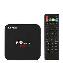 2GB RAM 16GB ROM Smart Android 6.0 TV Box Amlogic S905X Quad Core VP9 UHD 4K HD Mini PC WiFi DLNA Miracast Media Player V88 PRO(China)