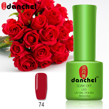 Danchel Beauty Nail Gel Polish Nail Art Manicure Kit UV Gel Polish Long-lasting Soak Off UV Gel Polish Varnish Primer Shilak Gel(China)