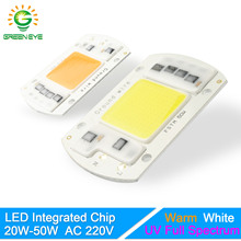 GreenEye Integrated LED Lamp Chip Warm/Cold White/UV Grow Light Full Spectrum 220V 240V 20W 30W 50W Flower Plant Spot Flood Bulb