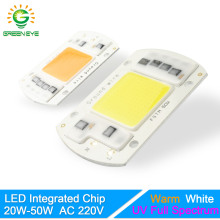 GreenEye Integrated LED Lamp Chip Warm/Cold White/UV Grow Light Full Spectrum 220V 240V 20W 30W 50W Flower Plant Spot Flood Bulb(China)