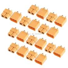 10Pairs XT60 Male Female Plugs Bullet Connectors for RC Lipo Battery -B116