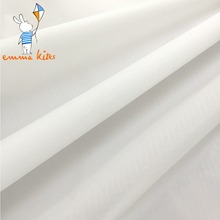 White Ripstop Nylon Fabric 40D Kite Fabric PU Coating Lightweight Waterproof Cloth for Cover Flag Banner(China)