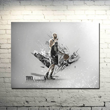 San Antonio Spurs Best player Art Silk Poster 13x20 20x30 Basketball Spotrs Picture Tim Duncan Tony Parker For Wall Decor 017(China)