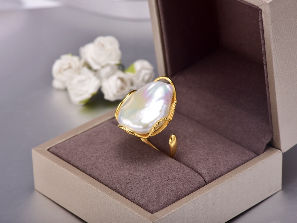 huge baroque pearl ring (6)