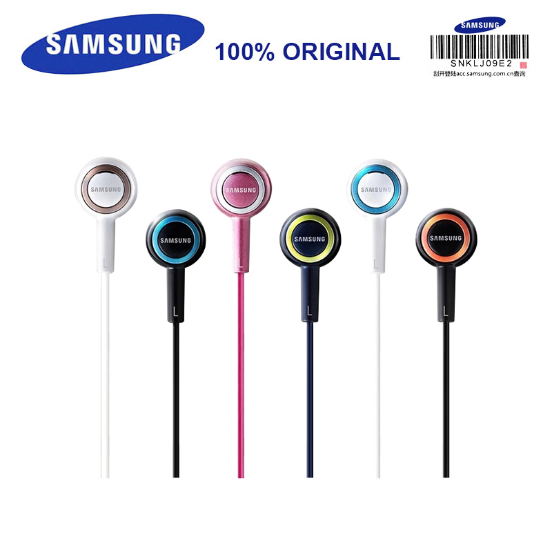 SAMSUNG Earphone SHE-C10 Wired Sereo Sport Headset Music 3 Colors Offical Genuine Smartphones / Computers