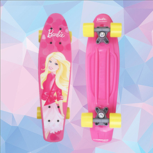 Free Shipping 22inch peny board Barbie skateboards Complete Retro elektroscooter Mini Longboard Skate Fish Skateboard red board
