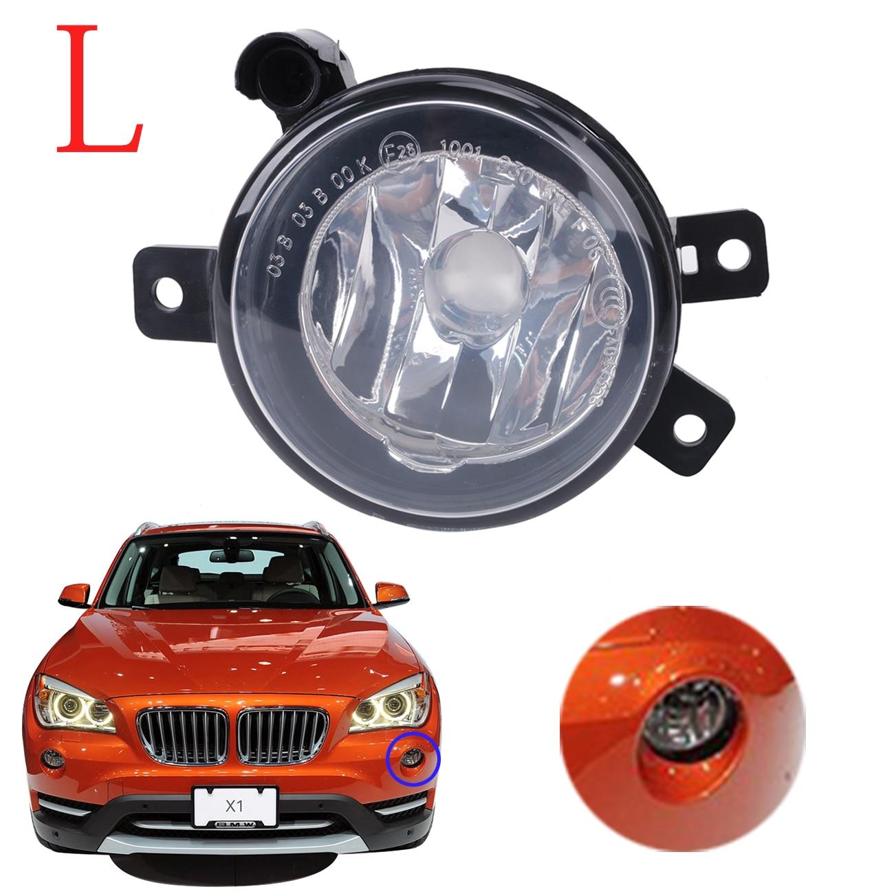 For BMW X1 E84 Sport Model 2010 - 2015 Front Foglight Fog Lights Clear Lamps Foglamp Covers OEM 63172993525 Left Side #W089-L<br>