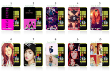 2016 Newest hybrid new group blackpink JISOO Printing phone Cases white hard cases for nokia lumia 630 cover