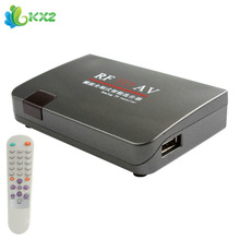 New Design High Quality RF to AV Video Converter Modulator TV Switch Station-selector without Location Limitation