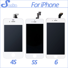 SANKA AAA For iPhone 4 A1332 4S 5S 5C 5 6 6Plus LCD Touch Screen Display Digitizer Replacement Assembly Mobile Phone Parts