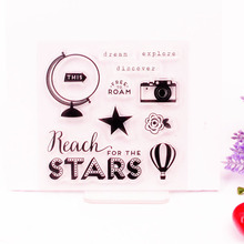 Clear Stamp Scrapbook DIY photo cards rubber stamp seal stamp dream star transparent silicone transparent stamp