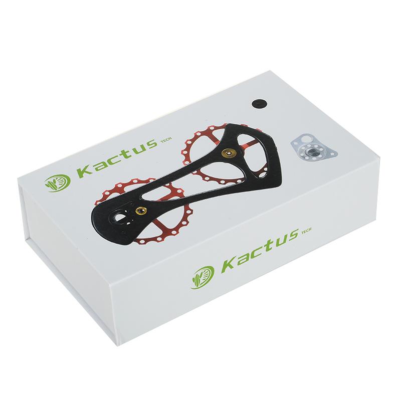 10 bestgia 17T Carbon Fiber Bike Rear Derailleur Jockey Pulleys Wheel Steel Bearing Ultralight Bicycle Jockey Wheel for Shimano Ultegra