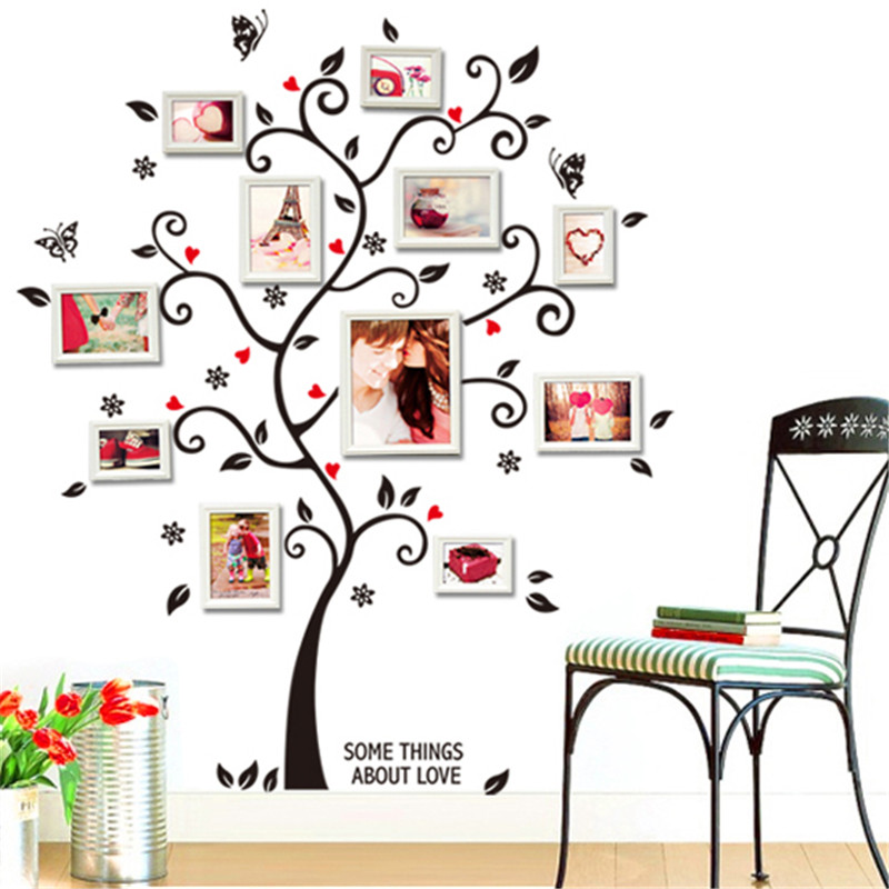 HTB1uGTZRXXXXXayXXXXq6xXFXXXG - DIY Family Photo Frame Tree Wall Sticker-Free Shipping