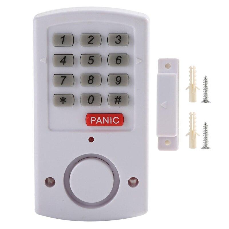 New 1pc Wireless Battery Burglar Keypad Remote Control Set For Door Window Alarm Security System Home