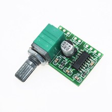 PAM8403 mini 5V digital amplifier board with switch potentiometer can be USB powered GF1002