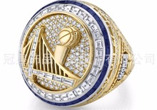 Factory Direct Sale New Arrival 2017 Golden State Warriors Durant Round Basketball custom Replica world Championship Ring