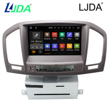 LJDA  Multimedia Car DVD Player With GPS Navigation For Buick Regal Opel Insignia Vauxhall 2011 2012 2013 Can Bus Steering wheel