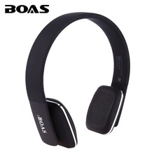 BOAS Bluetooth 4.1 headphones wireless Stereo earphones headsets handsfree with microphone for iphone xiaomi PC Notebook girls