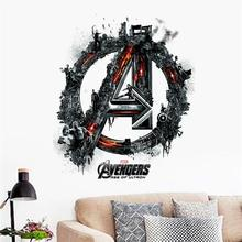 avengers age of ultron movie wall sticker kids bedroom decoration 1456 adesivo de paredes diy print mural art home decal poster(China)