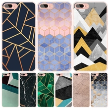 Marble Line Luxury  cell phone Cover case for iphone 6 4 4s 5 5s SE 5c 6 6s 7 plus case for iphone 7