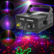 SUNY 3 Colors Remote 5 Lens 80 Pattern RGB Laser BLUE LED Stage Light Green Red illumination DJ Home Professional Light Z80RGRB