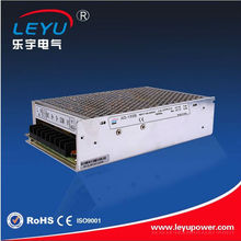 85-264VAC input hot selling 24v dc single output UPS power supply 155w with battery low cut off protection for security