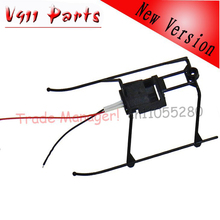 Free shipping Wholesale 5 pcs/lot WL V911 rc helicopter Accessories Old / New version landing v911 parts