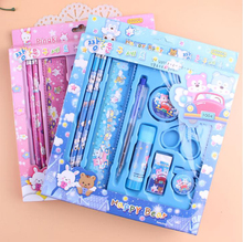 Creative gifts for children Stationery set students in the prize child gift box school supplies stationery set /160901