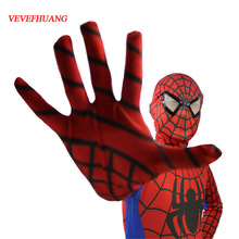 Buy VEVEFHUANG Red Black Spiderman Costume Spider Man Suit Spider-man Costumes Adults Children Kids Spider-Man Cosplay Clothing for $18.98 in AliExpress store