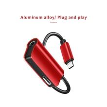 Type C Adapter Aux Audio Headphone Converter USB Type C 3.5mm Earphone Jack Adapter OnePlus 6T Jack Cable Xiaomi Mi6