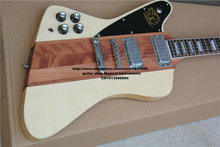 New + Factory + Chibson custom shop firebird  left hand electric guitar firebird neck through body style guitar