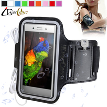 Sport Arm Band Jogging Phone Case for Sony Xperia XZ Premium G8141 / XZ Premium Dual G8142 Waterproof PU Leather Cover Fundas