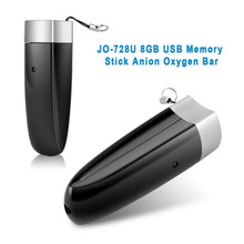 JO 728U 2-in-1 Auto Car Computer Fresh Air Ionic Purifier Oxygen Bar Ozone Ionizer Cleaner and 8GB USB Storage Disk Ship from US