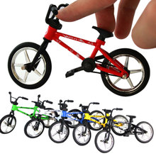 Mini BMX Bicycle Toy Excellent Finger Mountain Bike Creative Gift Workmanship Durable  Bike Baby Children Toy FJ88