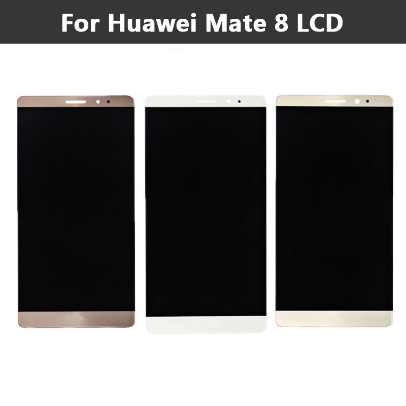 Original For Huawei Mate 8 LCD Display + Touch Screen Digitizer Glass Sensor Assembly Replacement Parts <br>