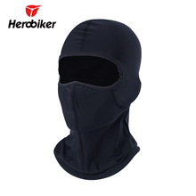 HEROBIKER Motorcycle Face Mask Unisex Black Ski Mask Balaclava Moto Summer Winter Face Mask Motorcycle Paintball Fishing Gorro(China)
