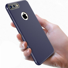 Luxury Matte Soft Case for Iphone 7 7Plus 6 6S Plus Eye Gel Cover phone case Frosted Camera Lens Ring protect Prevent Exposure