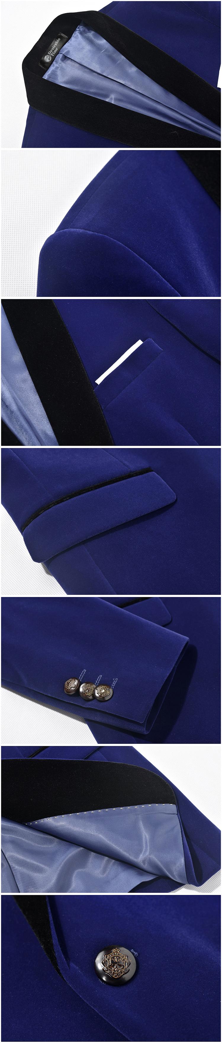 HTB1uHPTRFXXXXXrXVXXq6xXFXXXa - Royal Blue Mens Wedding Tuxedo Suit M-4XL Autumn High Quality Shawl Lapel Slim Fit Velvet Men Red Prom Suits DT059