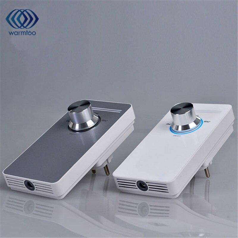 EU Plug  Mini Intelligent Sterilization Air Purifier Ozonator Fresher Purifying Machine Household Office AC 220V<br>