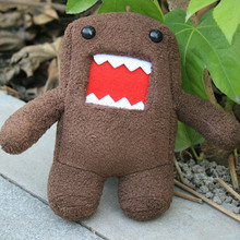 Cute Domo Kun Plush Doll Toy Domo Toys Great Christmas Gifts 7inch 18cm Free shipping(China)