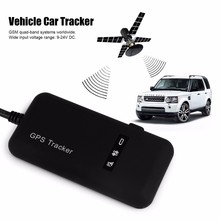 Car GPS tracker Google link real time address tracking for Car Auto Vehicle Motorcycle GPS Tracker Locator free shipping(China)