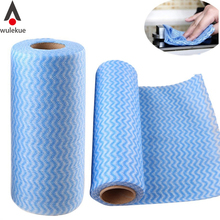 25 PCS Multipurpose Roll Towel Non-woven Fabric Cloth Wiping Cleaning for Home Kitchen Office Car Dishcloth Dish Cloth Cleaner(China)