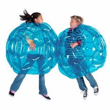 Outdoor Activity Inflatable Bubble Buffer Balls Collision Body Bumper Ball Friendly For Kids Funny Body Punching Ball 60 cm(China)