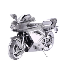 New Released  MOTORCYCLE II P057-S DIY Toy 3D Laser Cut Models Soldier Puzzle Toys